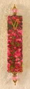 Elegant Mezuzah - Field of Poppies
