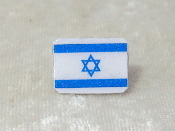 Flag of Israel Tie Tack
